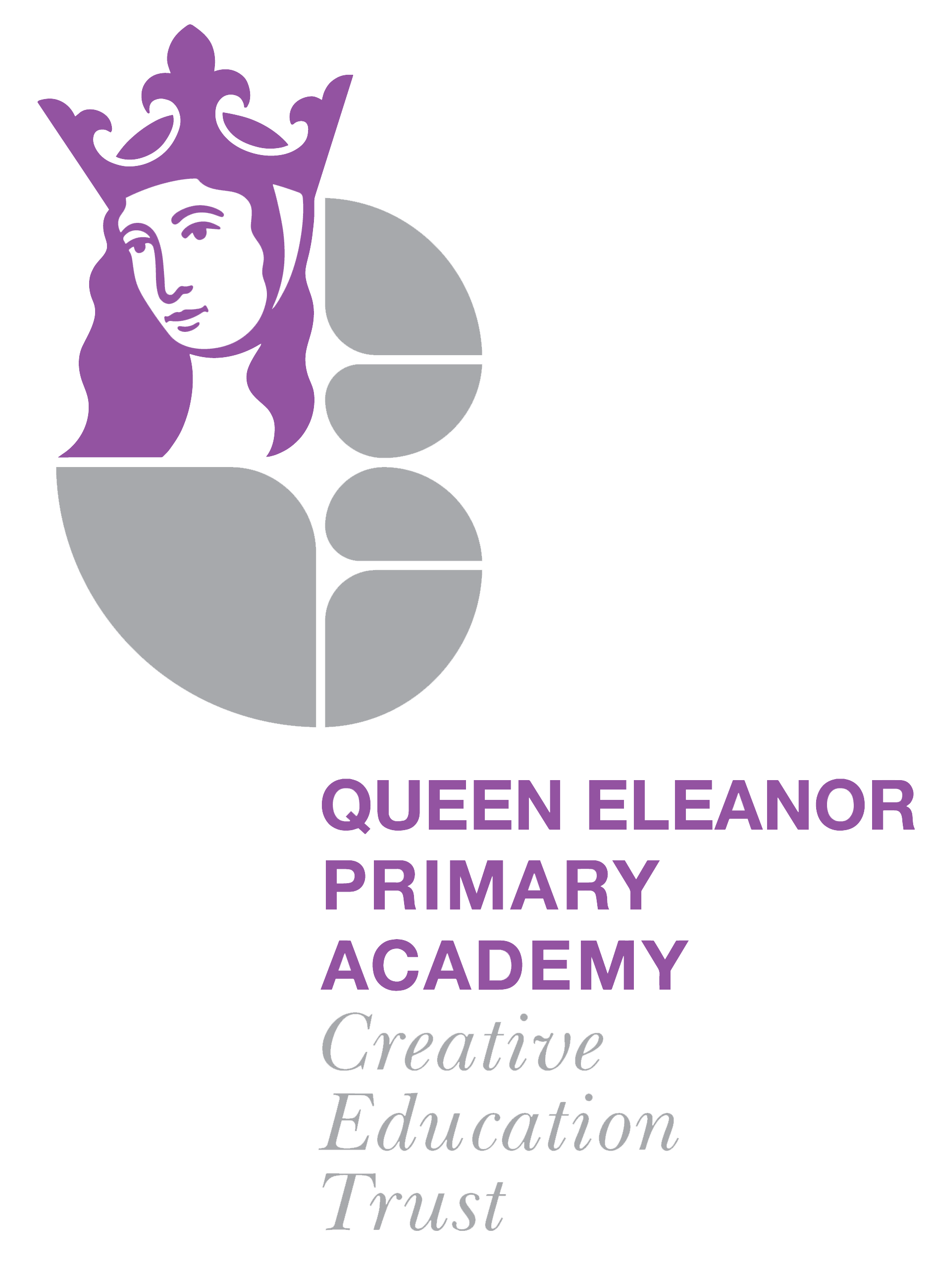 queen eleanor primary academy CET logo