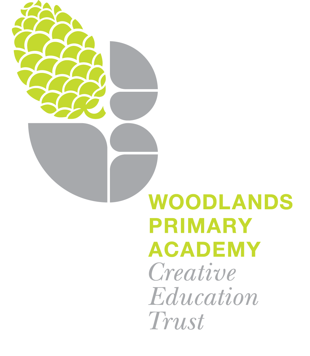 Woodlands primary academy CET logo